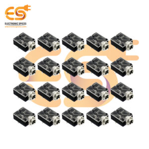 5 Pin 3.5mm Stereo Audio Jack Socket PCB Panel Mount With Nut PJ-324M for Headphone (500PCS)